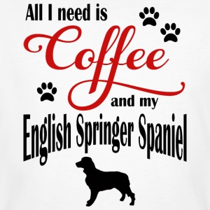 English Springer Spaniel Café - T-shirt bio Homme