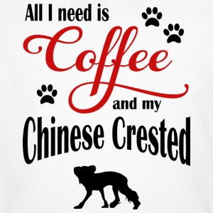 Chinese Crested Coffee - Men's Organic T-shirt