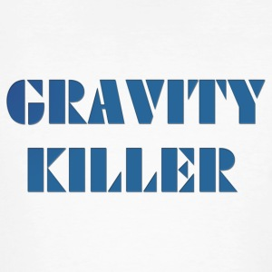 Gravity Killer - Økologisk T-skjorte for menn