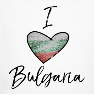 I Love Bulgaria - Økologisk T-skjorte for menn