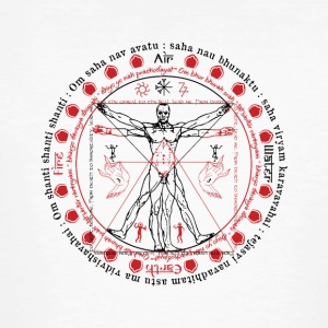 Vitruvian Alchemist Wise Man - Men's Organic T-shirt