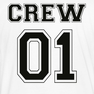 CREW 01 - Black Edition - Men's Organic T-shirt