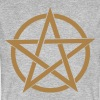 Pentagramme Wicca - T-shirt bio Homme