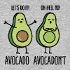 Avocado - Avocadon't - Men's Organic T-shirt