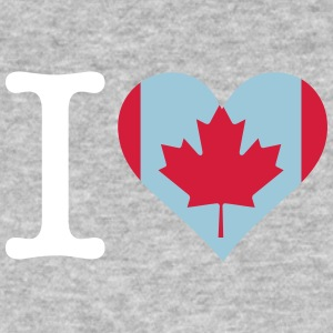 I Love Canada - Men's Organic T-shirt