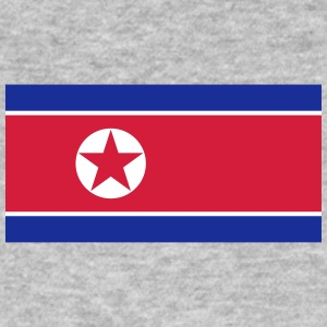 National Flag of North Korea - Ekologisk T-shirt herr