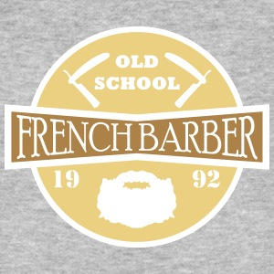 FRENCH BARBER - Økologisk T-skjorte for menn