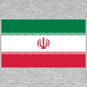 National Flag Of Iran - Men's Organic T-shirt