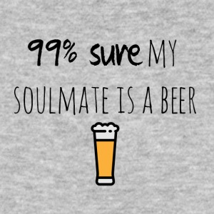 My soulmate is a beer - Männer Bio-T-Shirt