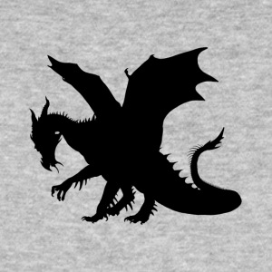 Dragon - Black Contour - Ekologisk T-shirt herr