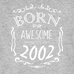 Born to be Awesome since 2002 - Men's Organic T-shirt
