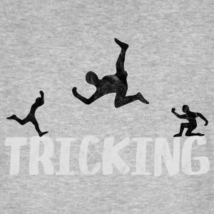 Tricking is jumping jump jumping parcours - Men's Organic T-shirt