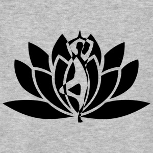 yoga flower - Men's Organic T-shirt