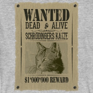 Schrödinger's Cat - Wanted Dead And Alive - Men's Organic T-shirt