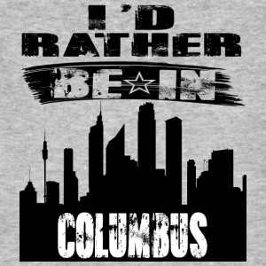 Gift Id rather be in Columbus - Men's Organic T-shirt