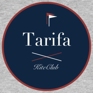 TARIFA 175x175 blue red - Men's Organic T-shirt
