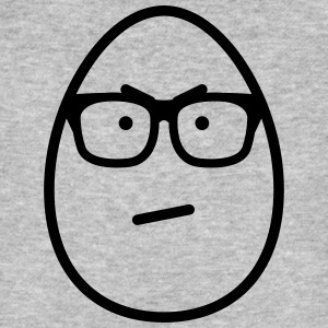 Egg Face Glasses Annoyed