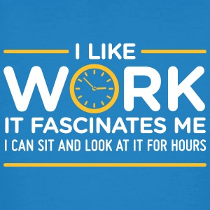 1942 i like work i could stare at it for hours odI - Men's Organic T-shirt