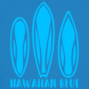 Hawaiian Blue 3 surfplanken - Mannen Bio-T-shirt