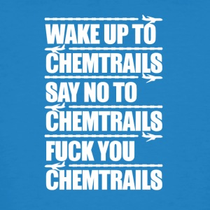 Say No to Chemtrails - Men's Organic T-shirt