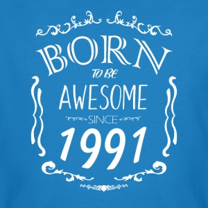 Born to be Awesome since 1991 - Men's Organic T-shirt