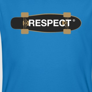 respect skateboard skater demo recognition fun lol - Men's Organic T-shirt