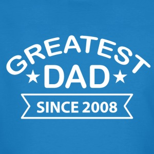 Greatest Dad Sedan 2008 - Ekologisk T-shirt herr