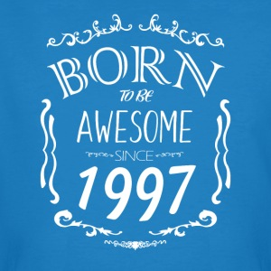 Born to be Awesome since 1997 - Men's Organic T-shirt