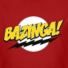 The Big Bang Theory Bazinga! Tenåring T-Shirt - Økologisk T-skjorte for menn