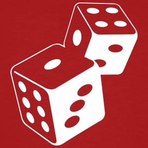 Two Dice At The Casino - T-shirt bio Homme