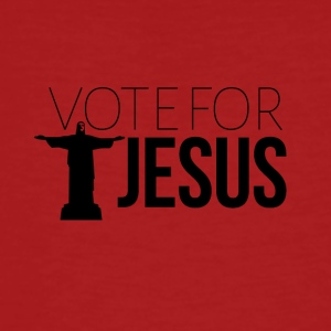 Vote for JESUS - Men's Organic T-shirt