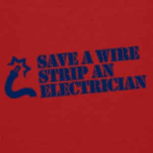 save a wire - Männer Bio-T-Shirt
