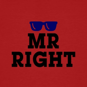 Mr Right - Ekologisk T-shirt herr