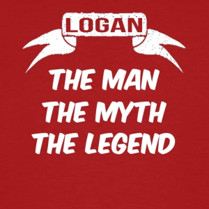 Logan de man de mythe de legende - Mannen Bio-T-shirt