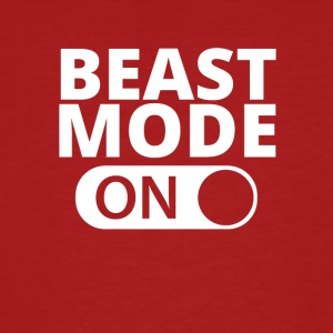 MODE ON Beast bodybuilding - Økologisk T-skjorte for menn
