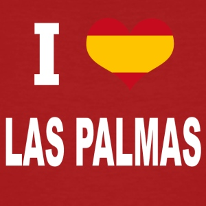 I Love Spain LAS PALMAS - Men's Organic T-shirt