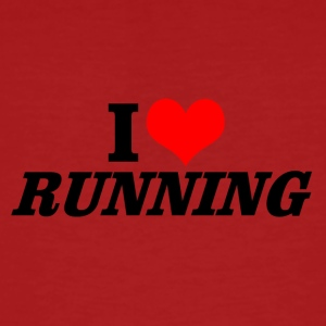 I love Running - Men's Organic T-shirt