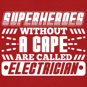 SUPERHEROES ELECTRICIAN - Men's Organic T-shirt