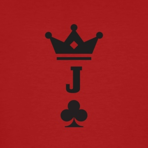 Jack of Clubs - Men's Organic T-shirt