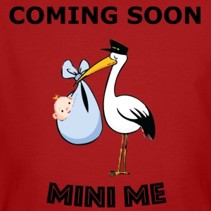Kommer snart - Mini Me - New Baby Announcement - Ekologisk T-shirt herr
