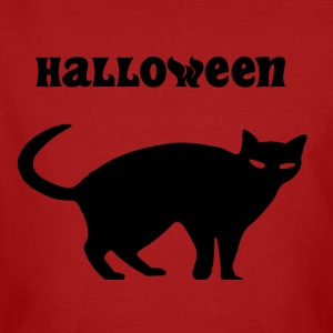 chat Halloween - T-shirt bio Homme