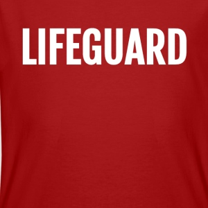 lifeguard template - Männer Bio-T-Shirt