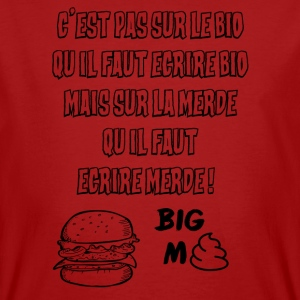 BIG MERDE - T-shirt bio Homme