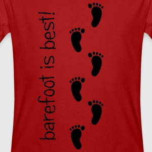 Barefoot is Best! - Men's Organic T-shirt