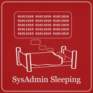 Do SysAdmins dream of Electric Sheep - Mannen Bio-T-shirt