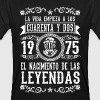 1975 - 42 años - Leyendas - 2017 Long Sleeve Shirts - Men's Organic T-shirt