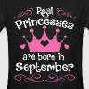 September - Princess - Birthday - 1 - Men's Organic T-shirt