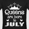 July - Queen - Birthday - 1 - Camiseta ecológica hombre