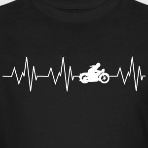 Heartbeat Motorcycling - Men's Organic T-shirt