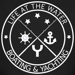 Life at the water - boating and yachting - Men's Organic T-shirt